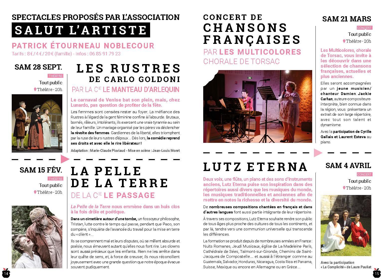 Théâtre municipal Archives La Couronne